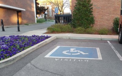 This Disability Parking Space Label Is Right